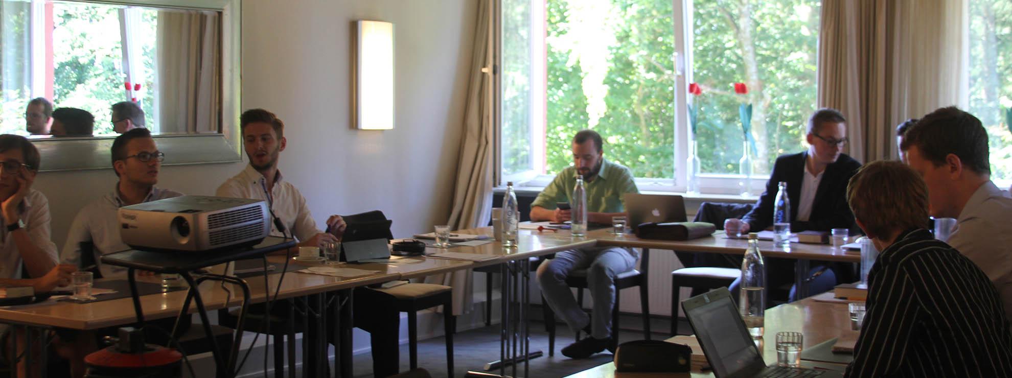 Vier Tagungsräume für Vorträge und Veranstaltungen