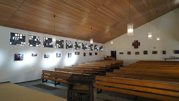 Hotel eigene Kapelle als idealer Proberaum für Chorgruppen