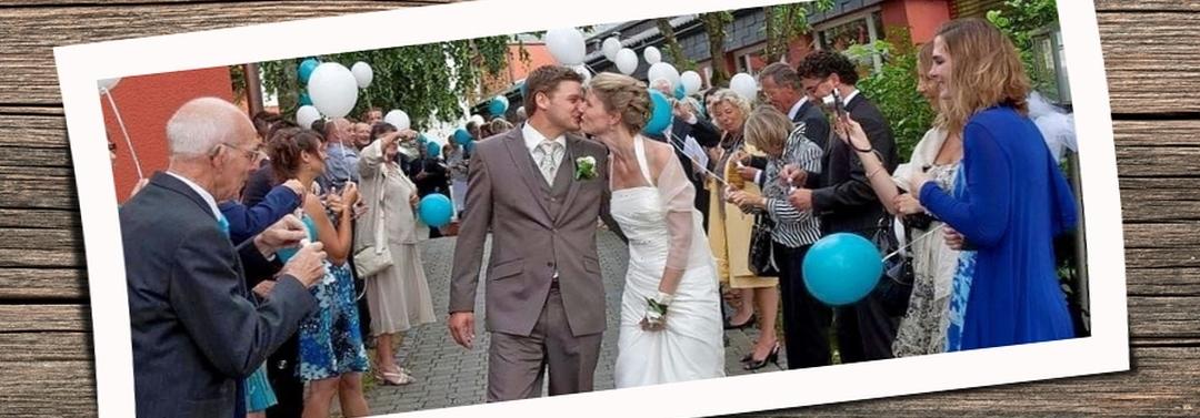 Bruiloftsfeest in het Sauerland