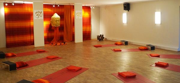 Neuer Yoga-Raum